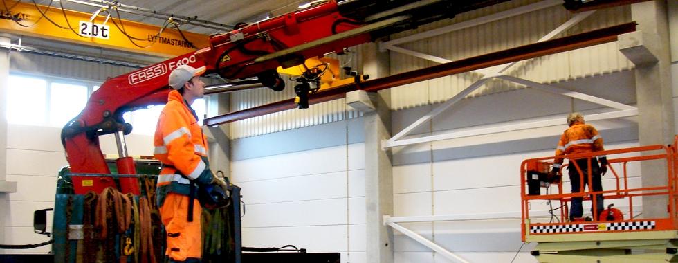Installation, leverans och montering